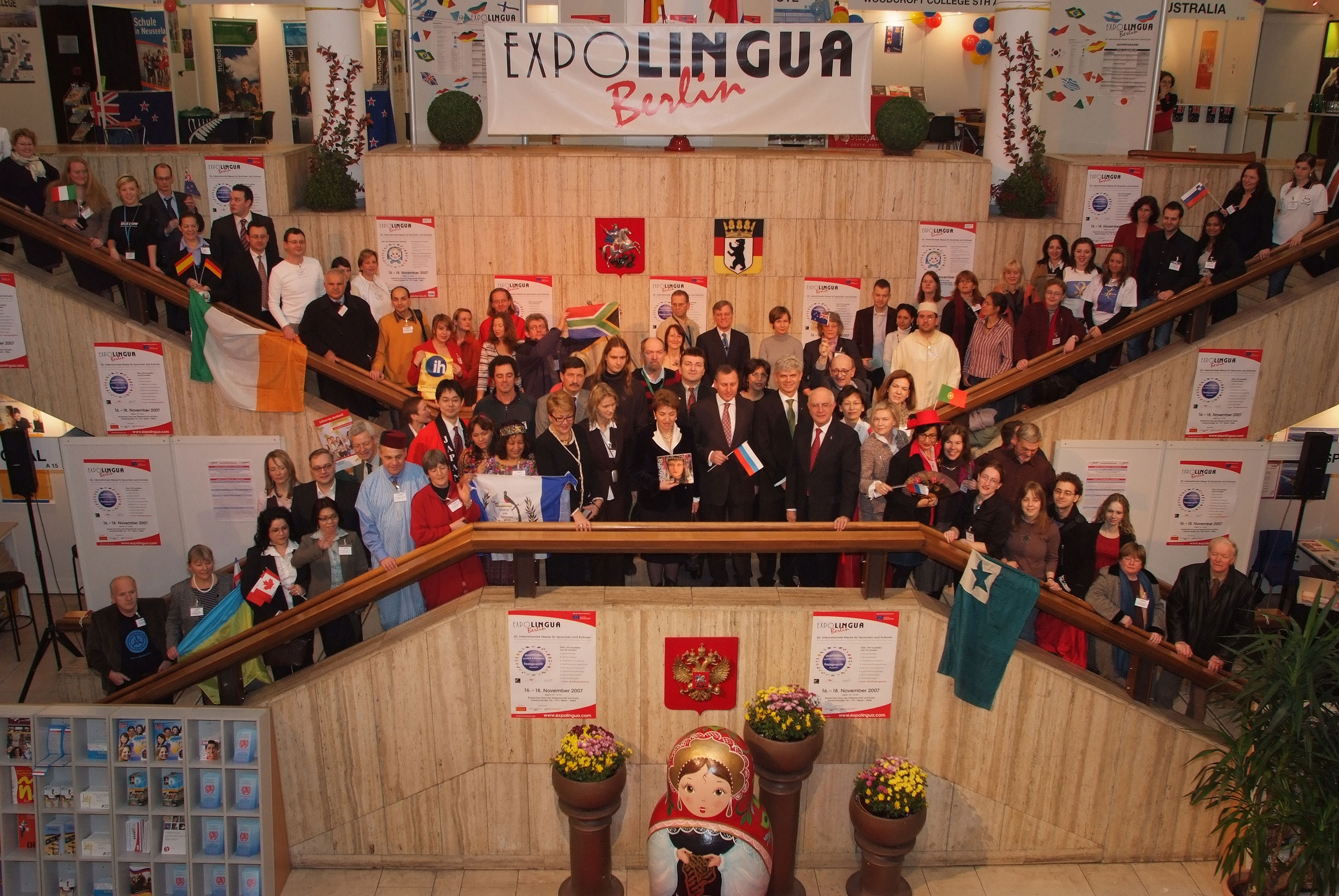 Vielfalt feiern! 25 Jahre Expolingua Berlin – 25 Jahre Sprachen und Kulturen erleben