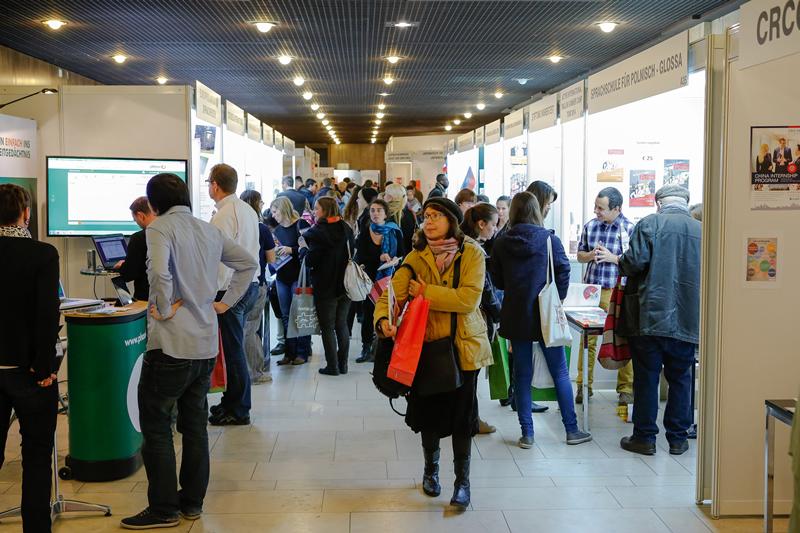 Vielfalt ist Trumpf! Frühbucherrabatt für Aussteller bis zum 15. Mai für die Expolingua Berlin 2014