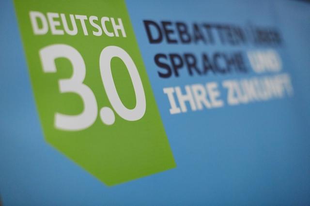 Veranstaltungsreihe DEUTSCH 3.0 – Debatten über Sprache und ihre Zukunft