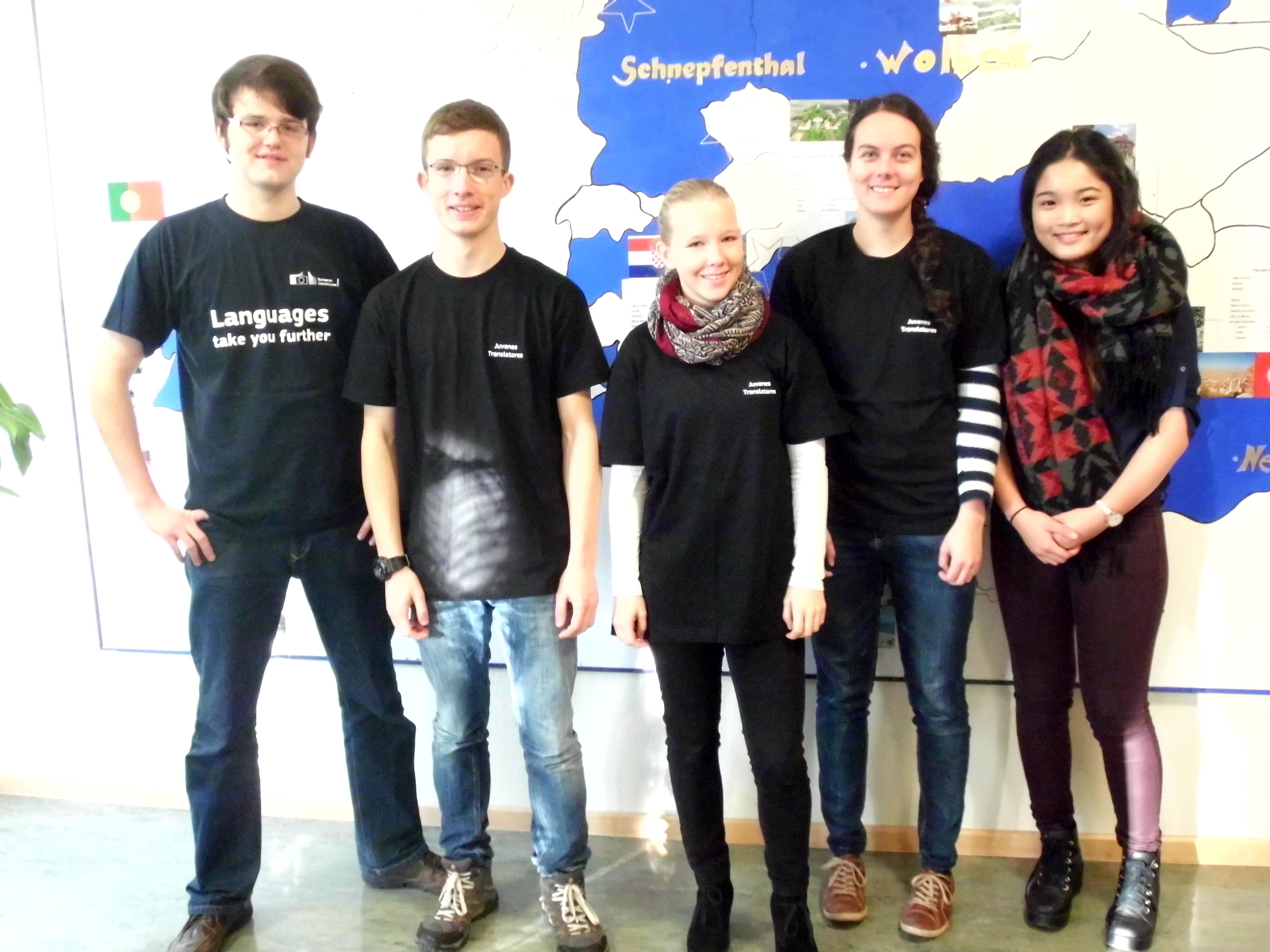 EU-Schülerwettbewerb Juvenes Translatores