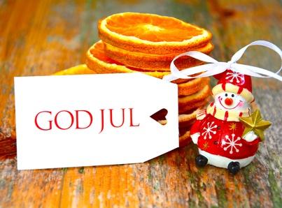 Weihnachten auf Schwedisch – God Jul!