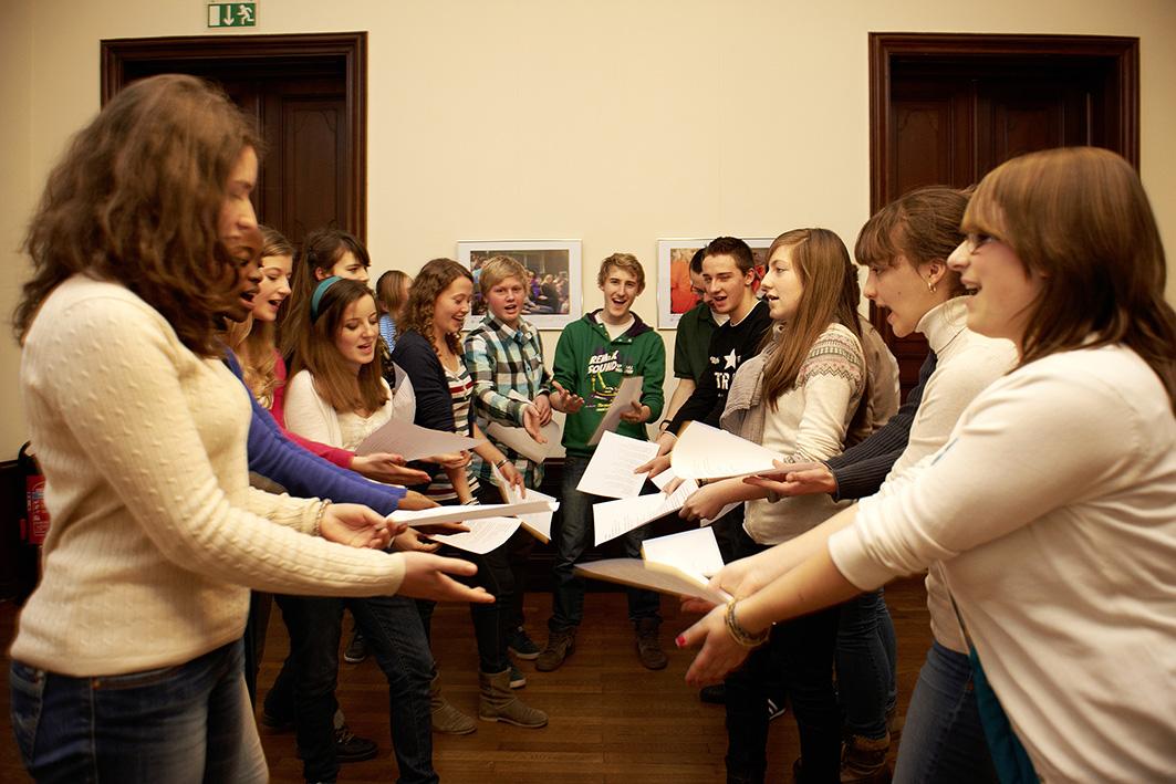 Fremdsprachen durch Theaterformen lernen